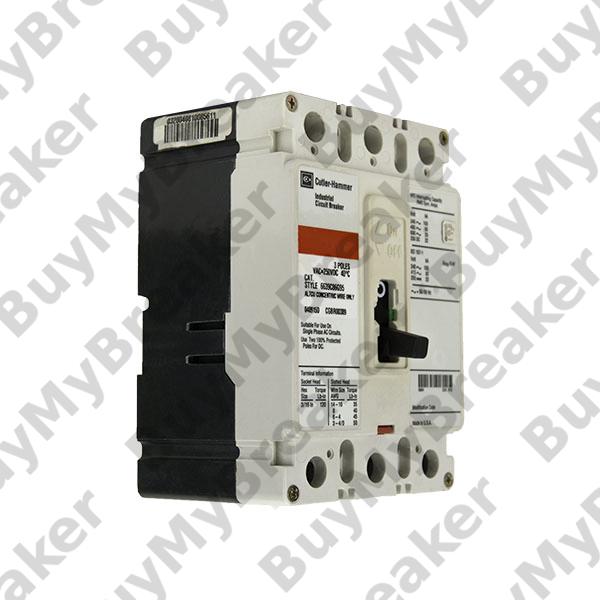 very good condition Cutler Hammer HFD3015 3 pole 15 amp 600v circuit breaker
